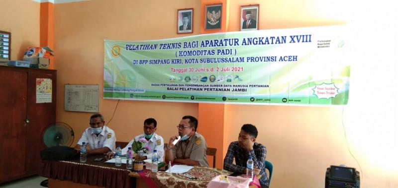 Dukung Program Food Estate, Kota Subulussalam Pacu Kualitas SDM Pertanian